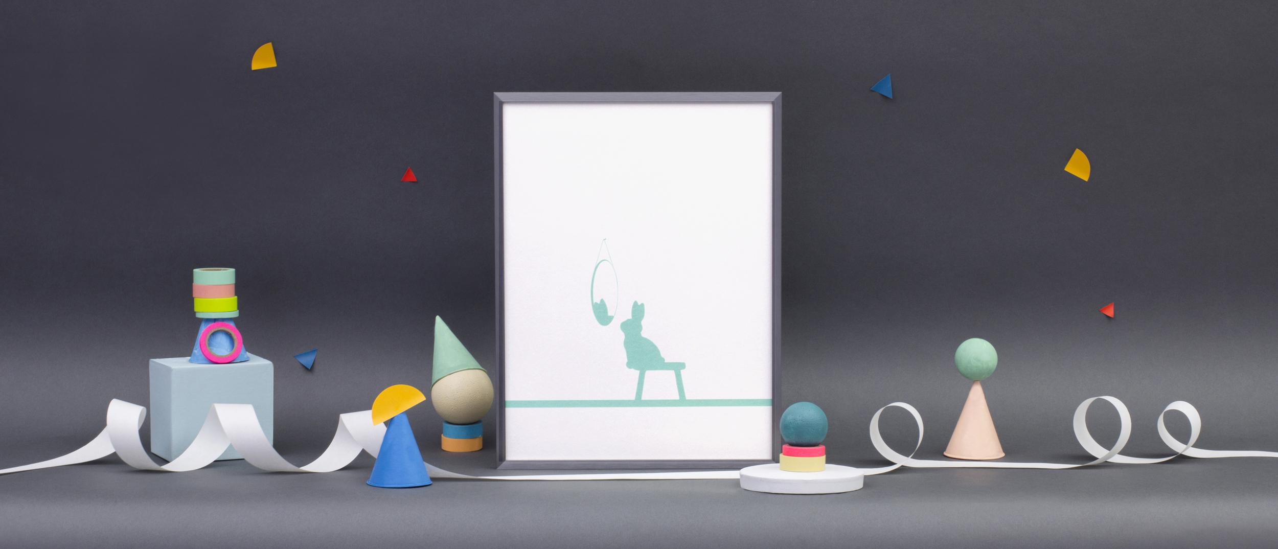 HAM Reflective Rabbit