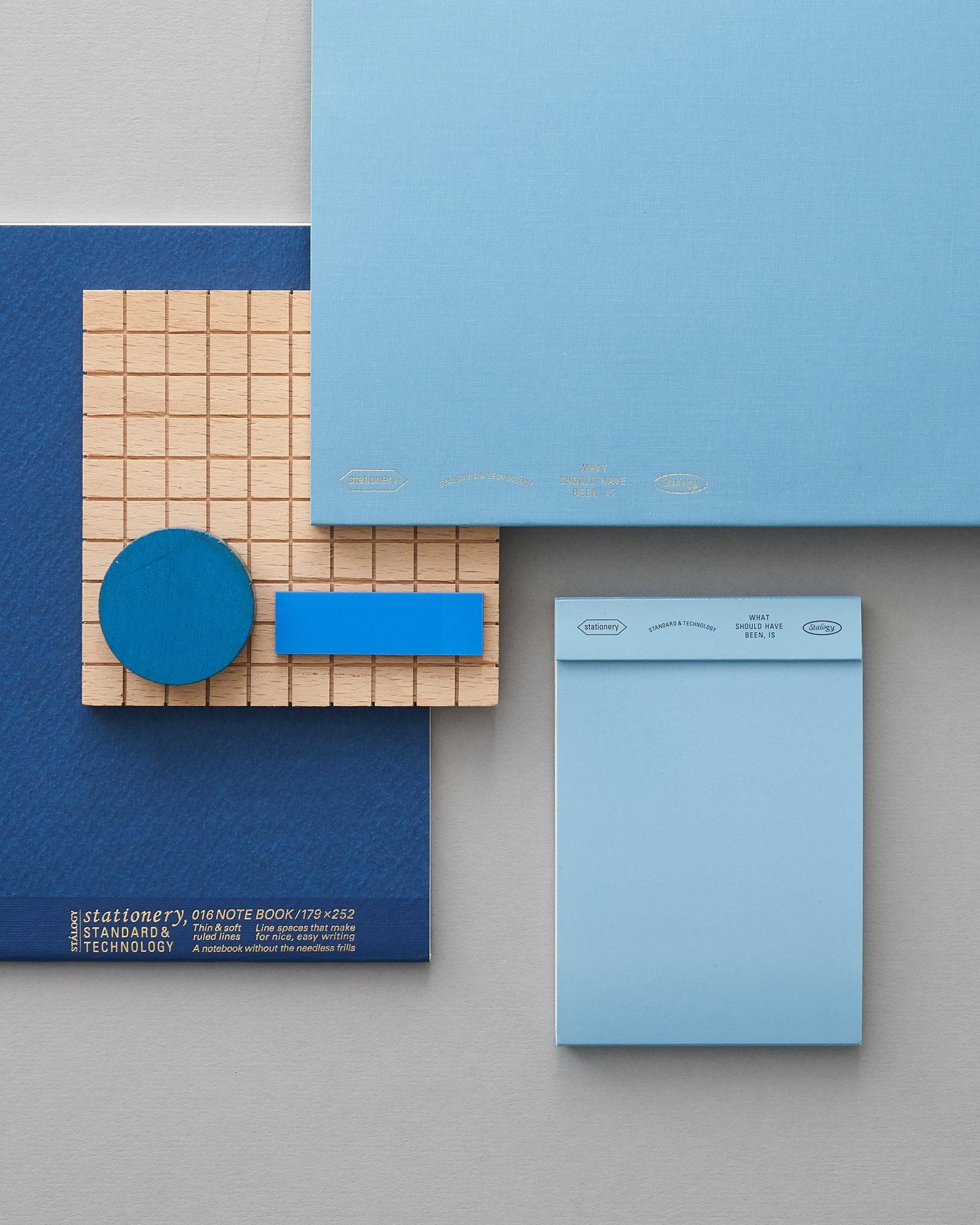 Stalogy Stationery Blue layout