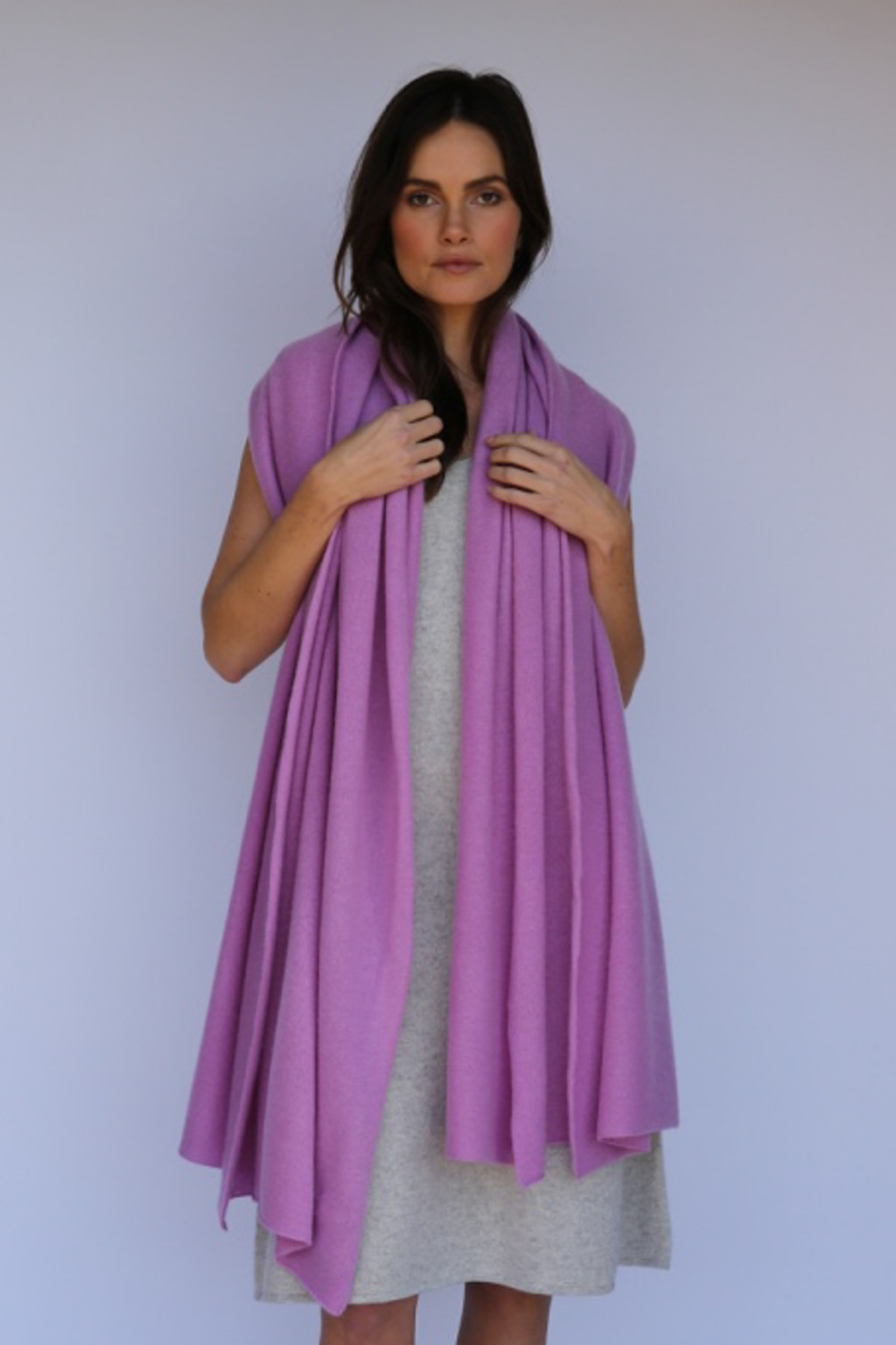 cashmere wraps, scarves, capes, and sweaters for every outfit.