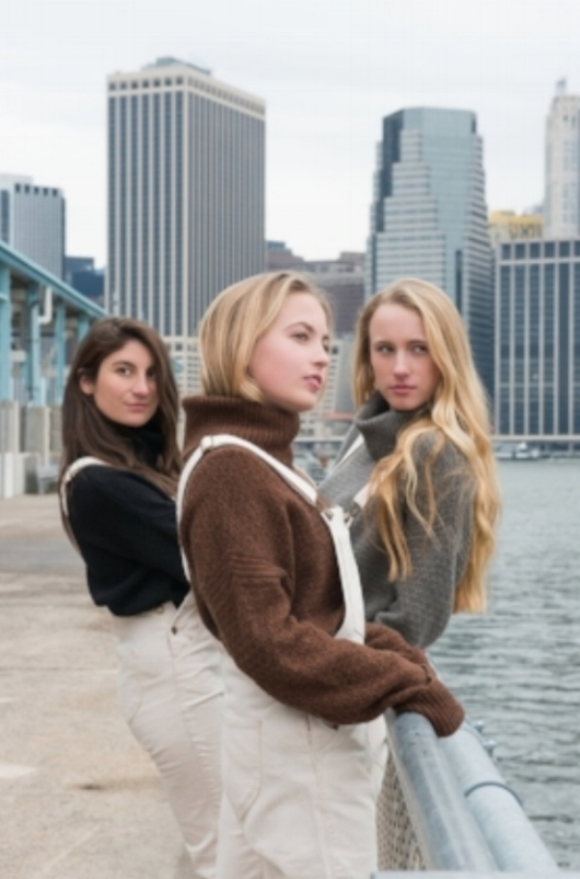 until soon NYC cashmere sweater