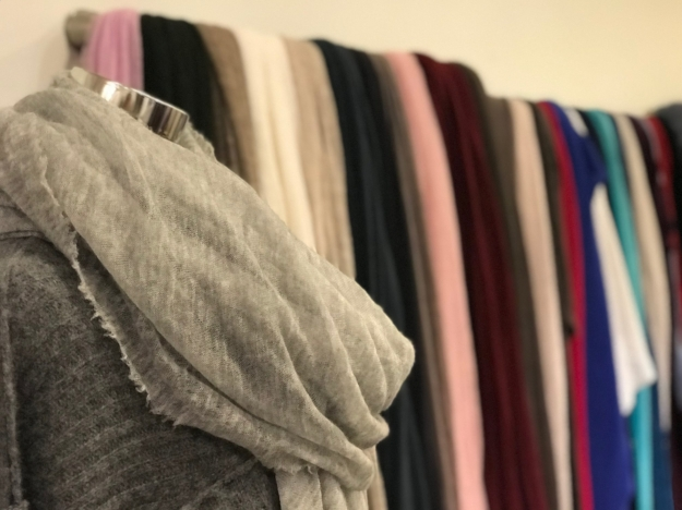 botto guiseppe cashmere scarfs