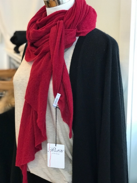 pin1876 cashmere scarf