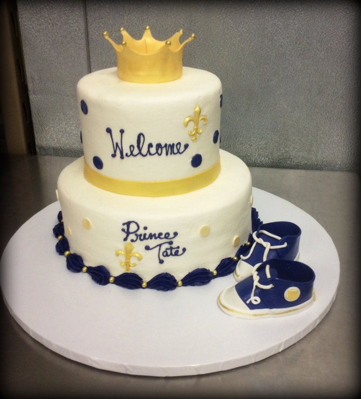 Royal Baby Shower Party Cake