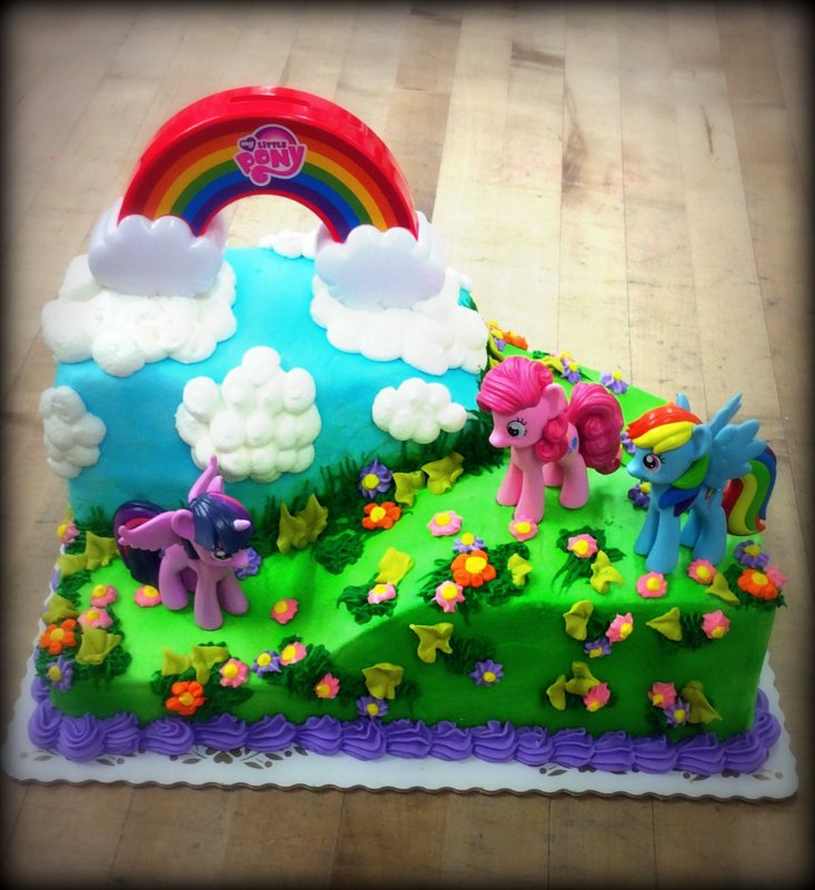 My Little Pony Specialty Cake