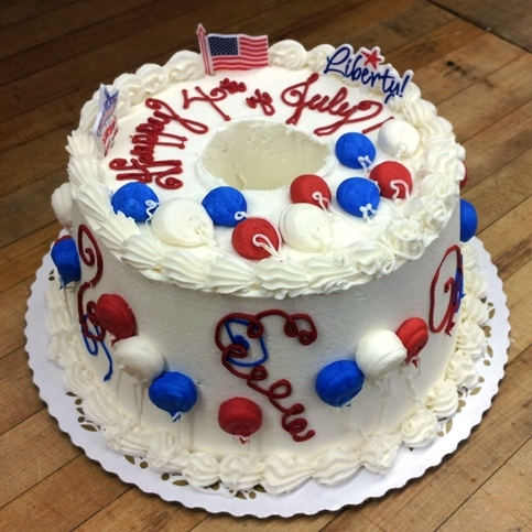 Fourth of July Angelfood Cake