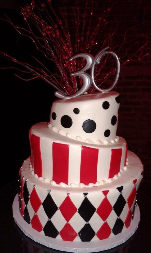 Topsy Turvy Party Cake