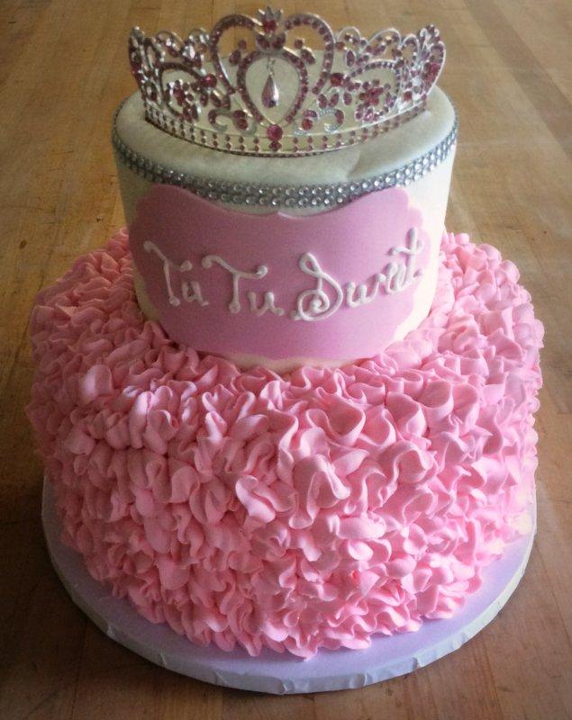 Tutu Ruffle Party Cake