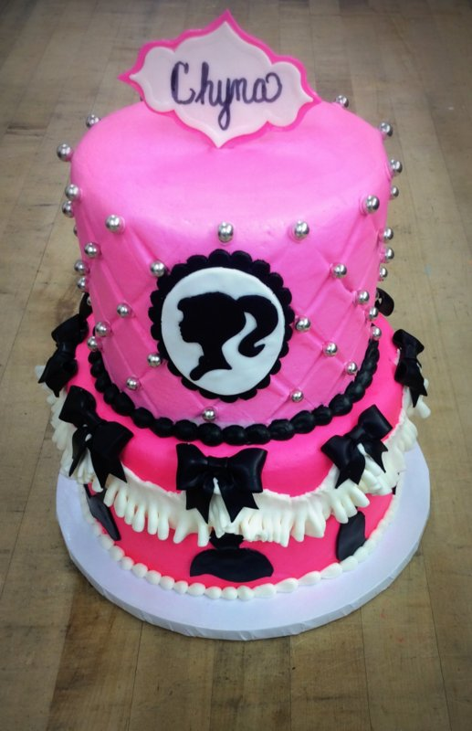 Barbie Party Cake