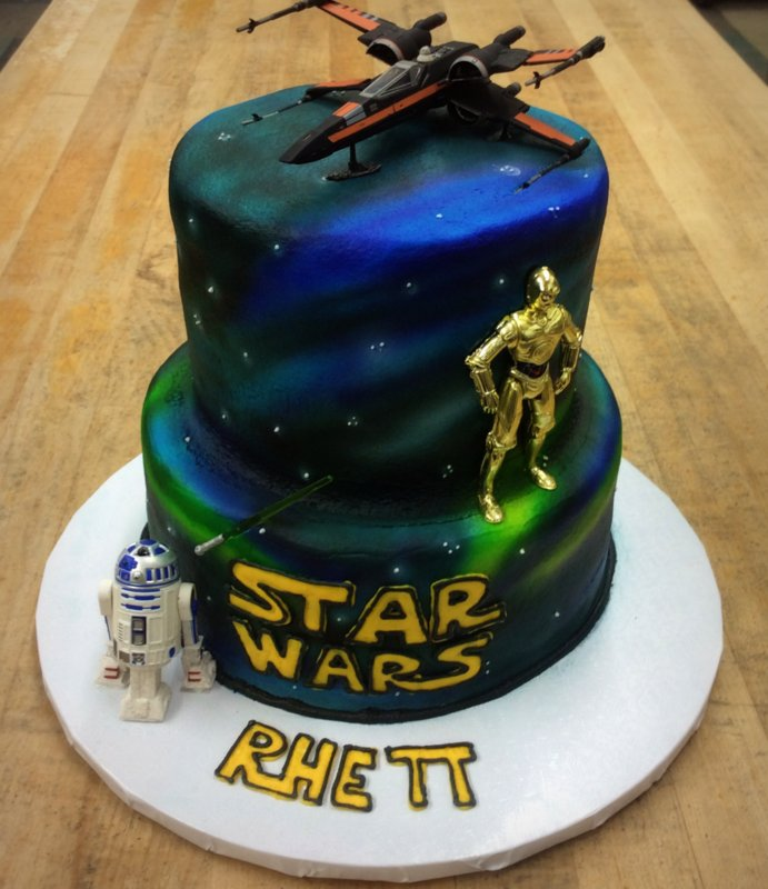 Star Wars Themed Party Cake