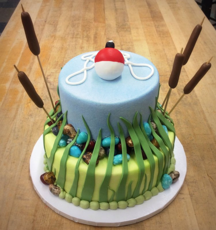 Fishing Party Cake