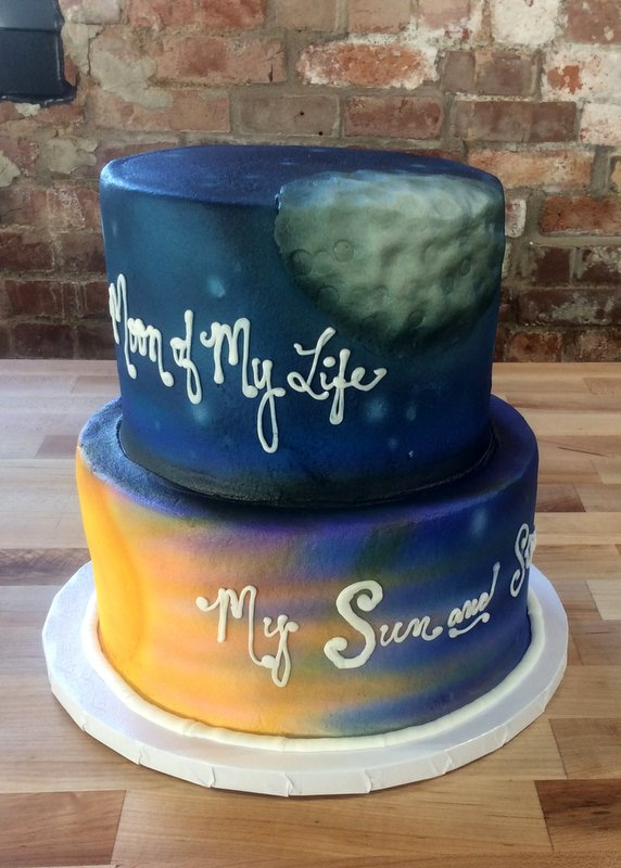 Moon of My Life Party Cake