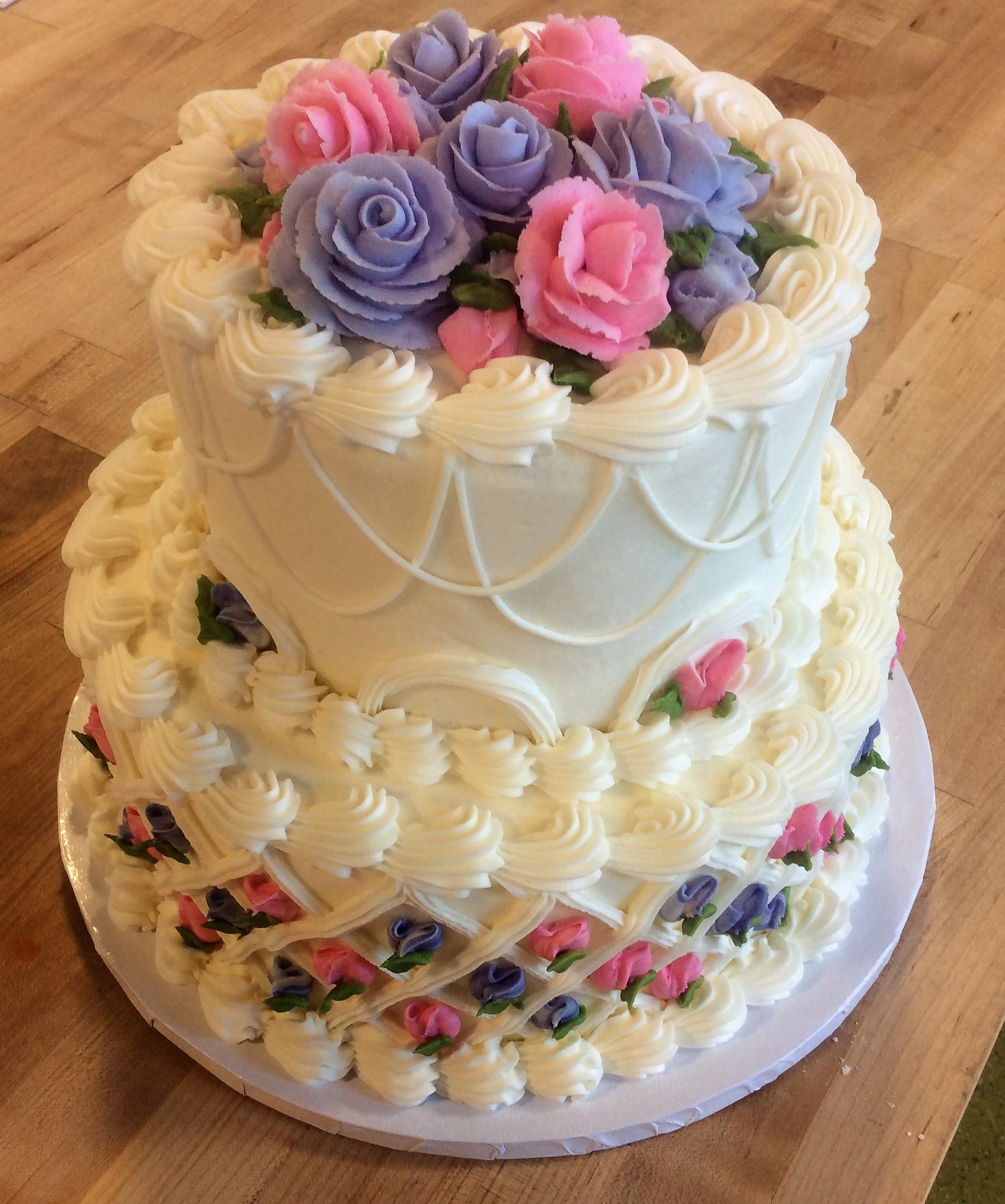 Wedding Cake Replica Party Cake