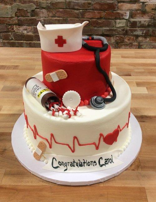 Nursing Party Cake