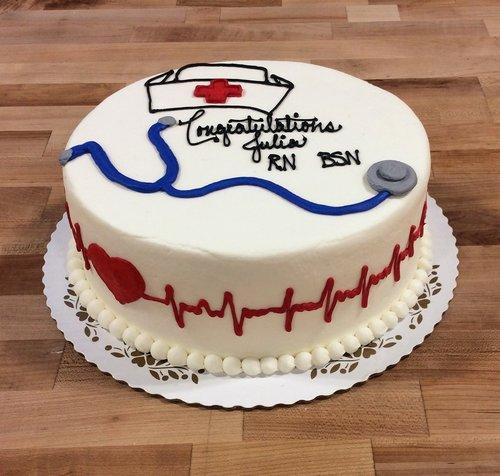 Nursing Decorated Cake
