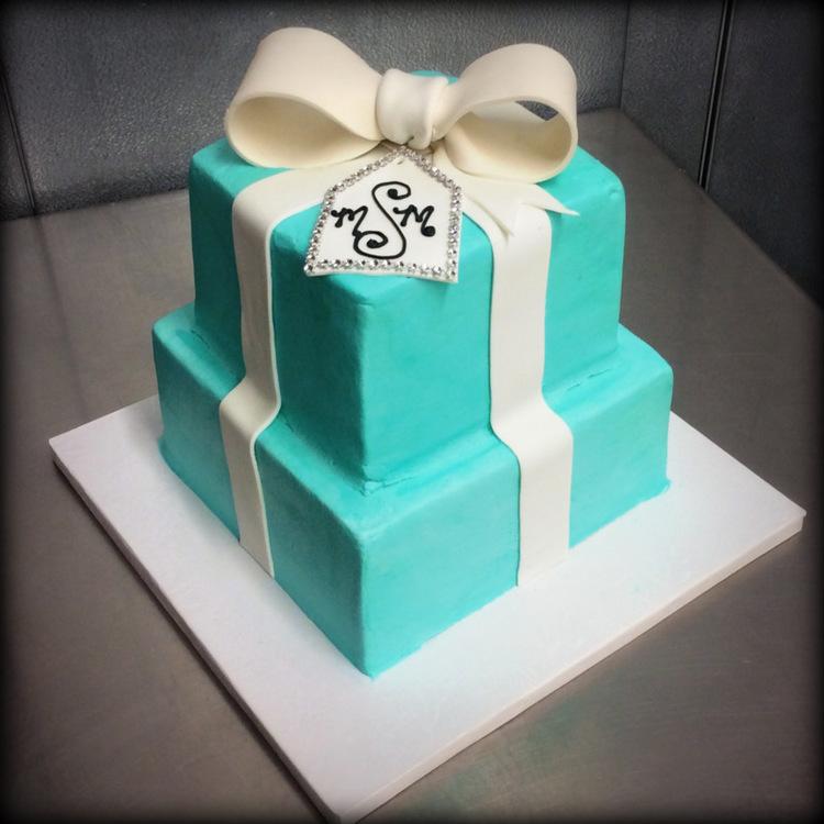 Tiffany Box Party Cake