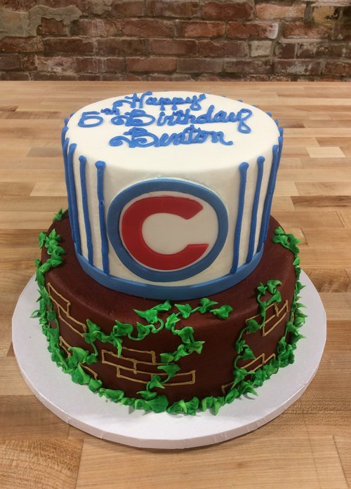 Cubs Wrigley Field Party Cake