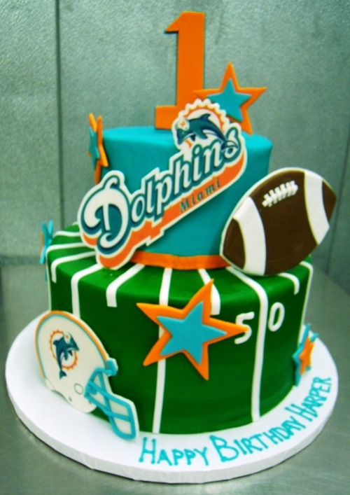 Football Party Cake