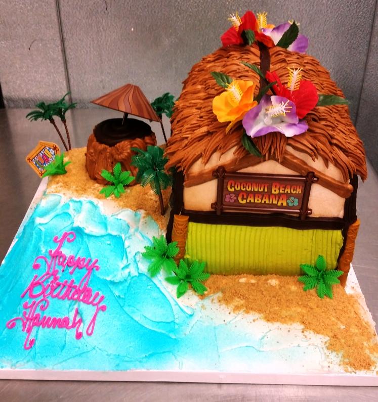 Cabana Toy Kit Sheet Cake