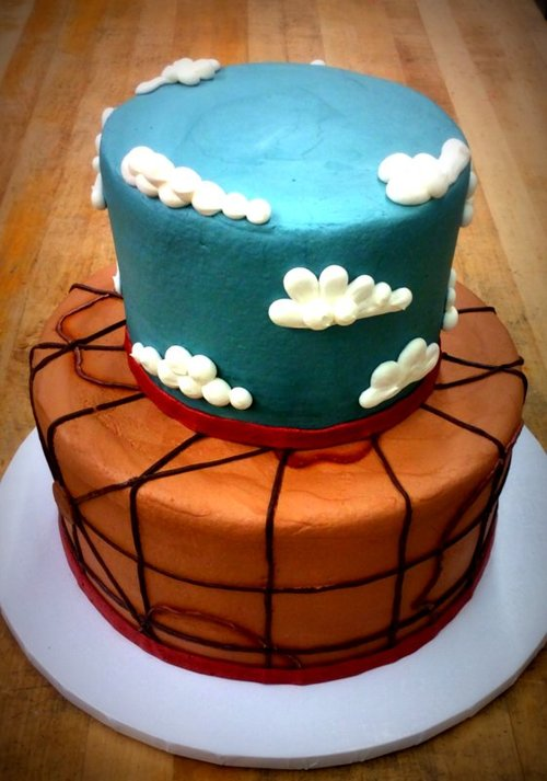 Adventure Party Cake