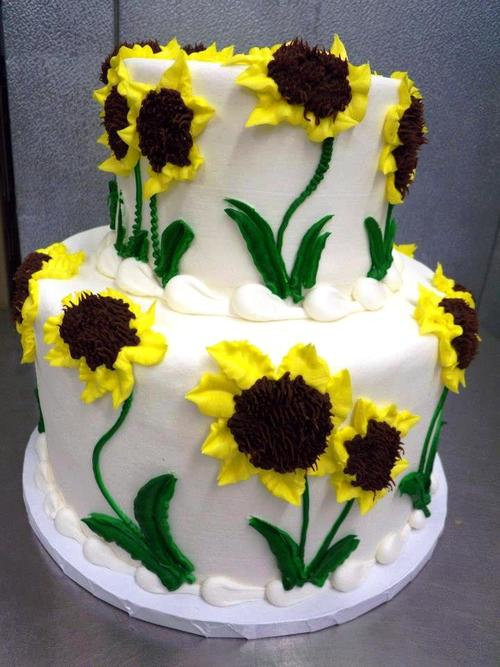 Sunflower Party Cake