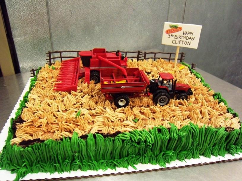 Farming Sheet Cake