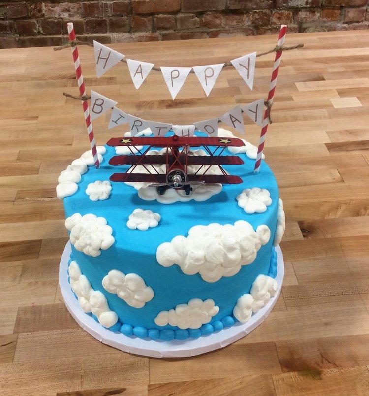Puffy Clouds Cake