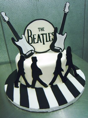 Beatles Party Cake