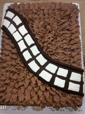 Chewbacca Sheet Cake