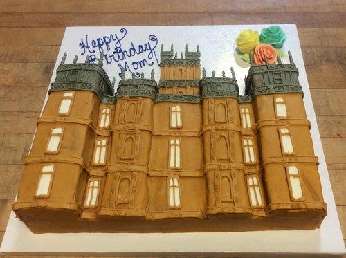 Downton Abbey Sheet Cake
