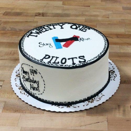 Twenty-One Pilots Cake