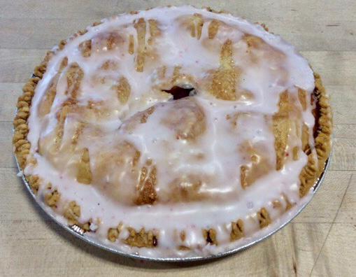 Apple Raspberry with Glaze