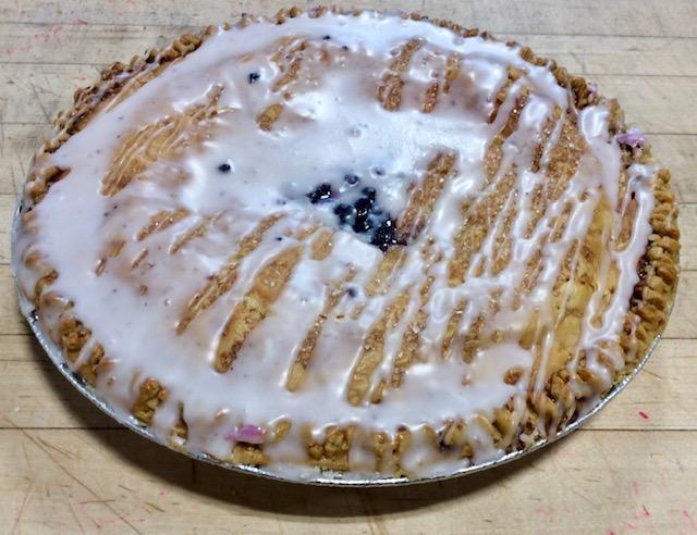Blueberry with Glaze