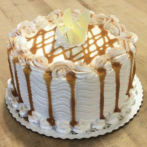 Caramel Apple Dessert Cake (seasonal)