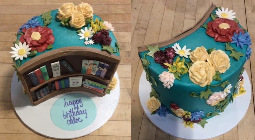 Library Bookshelf Shaped Cake.jpg