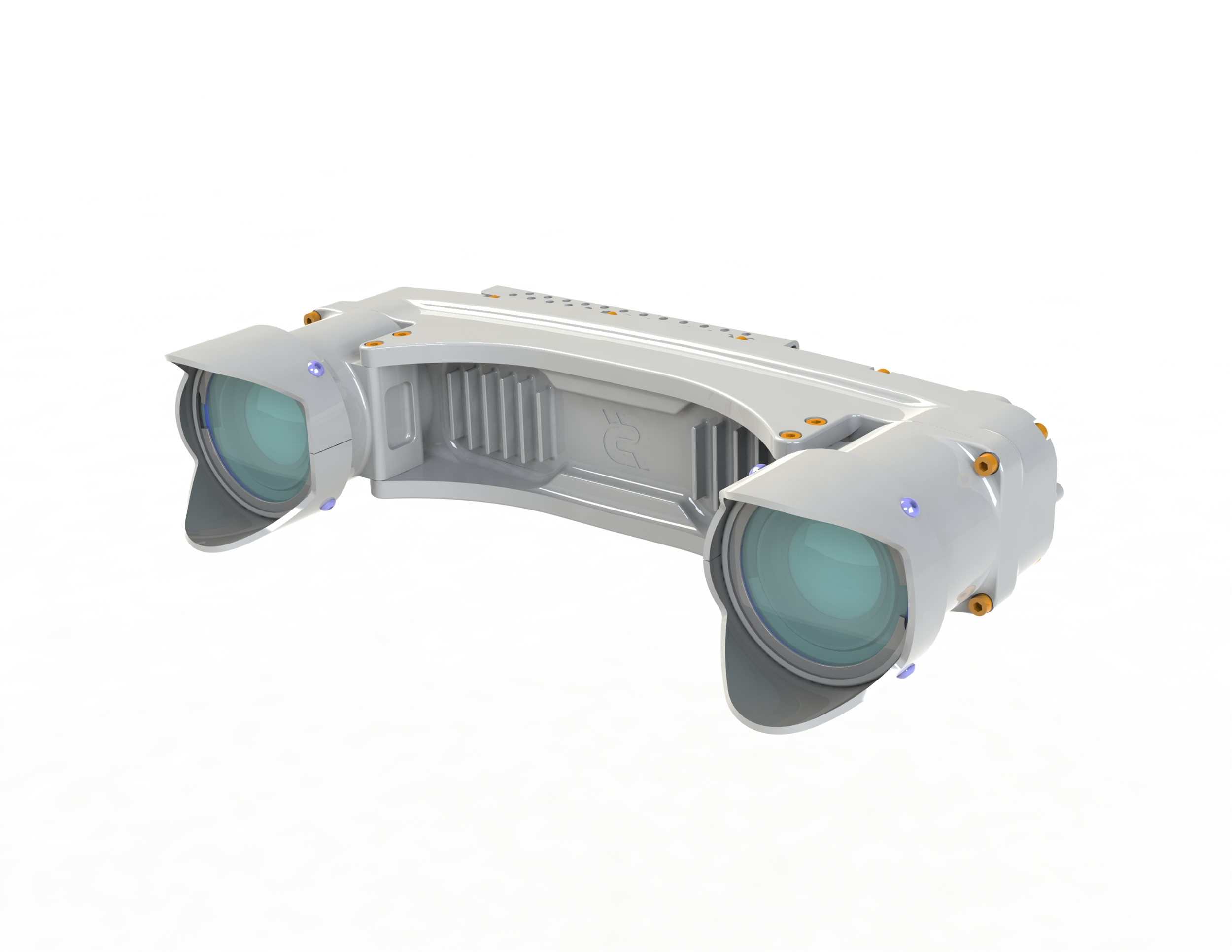 MultiSense S21: Wide Baseline 3D Stereo and Video Sensor for Longer Range Applications. A Variety of Factory-Installed Lenses are Available.