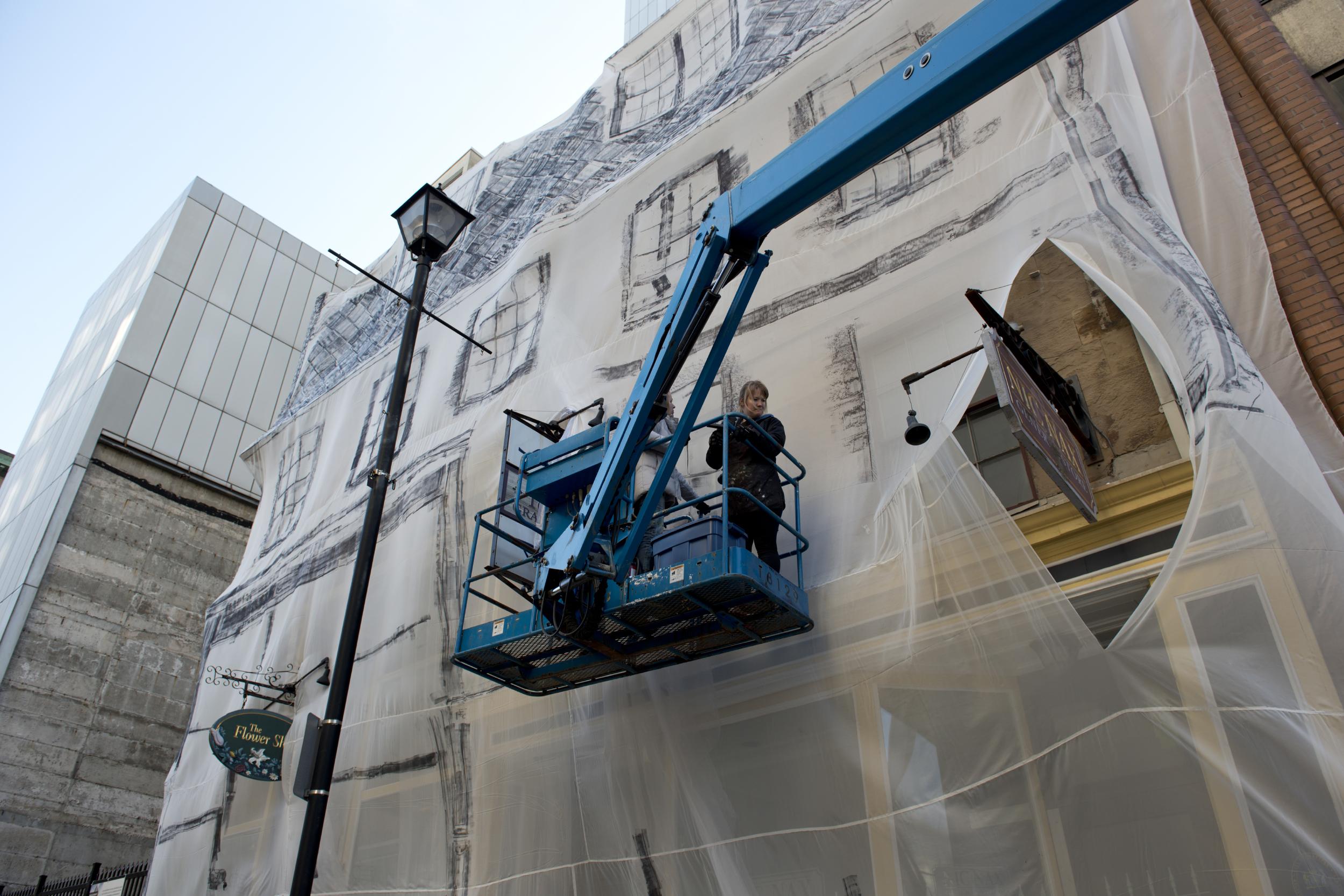 Shroud: The Macara Barnstead Building, 2012