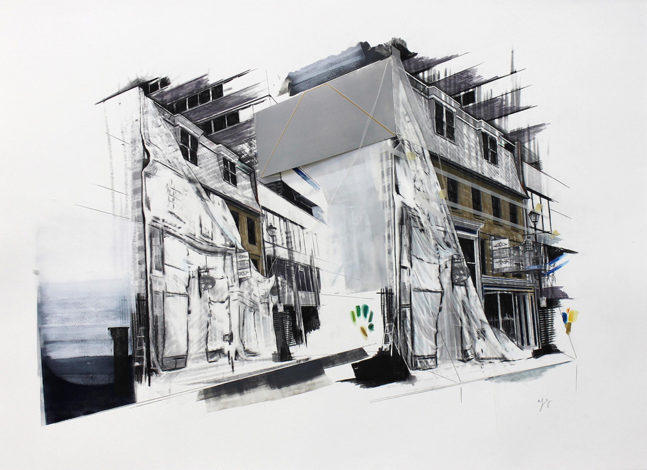Shroud: The Macara Barnstead Building, 2013