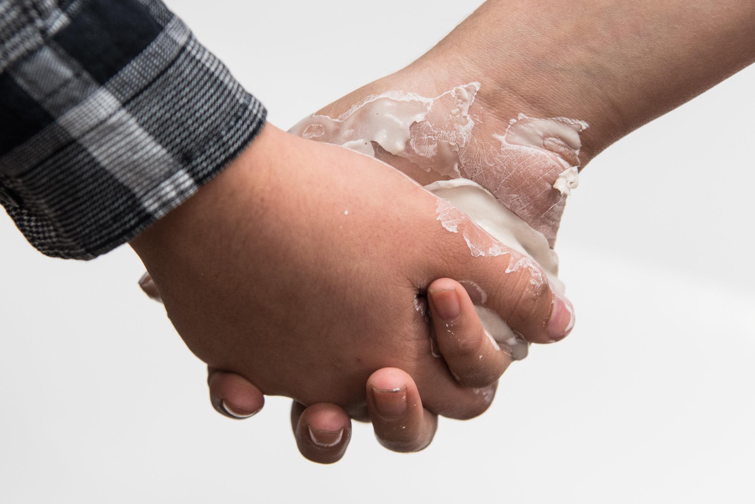 The Space Between Held Hands, 2017