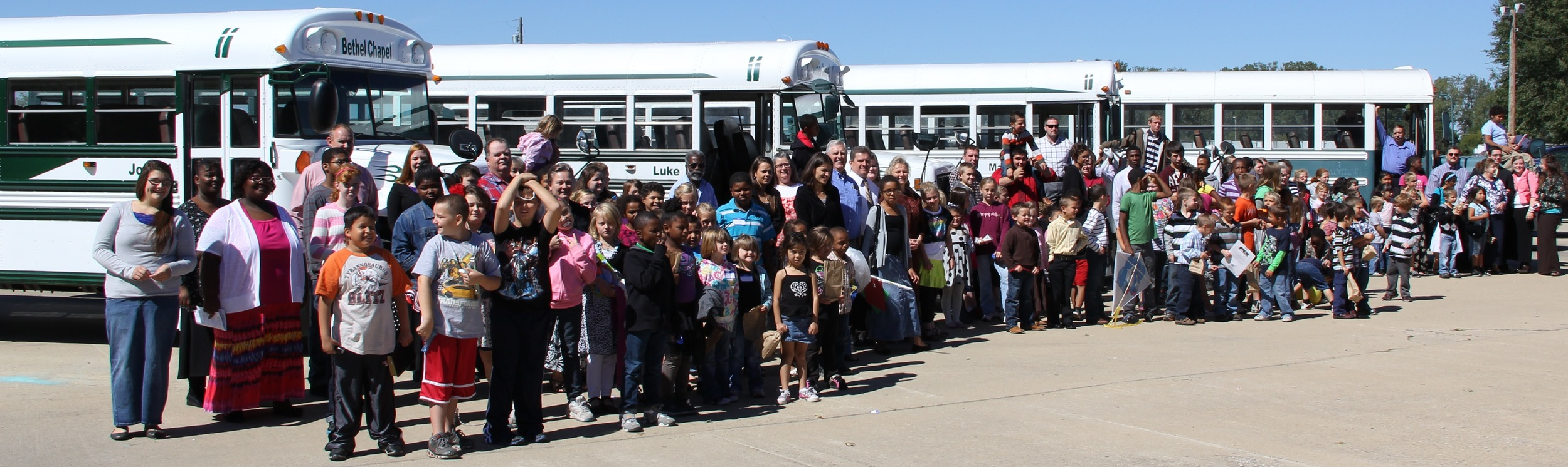 Way to go Bus Ministry!