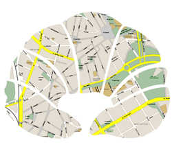 > Mapa Sant Cugat
