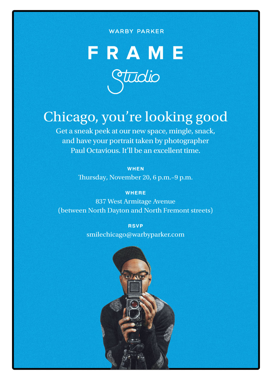 Chicago Store Launch