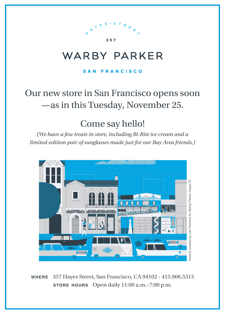 SF Store Launch