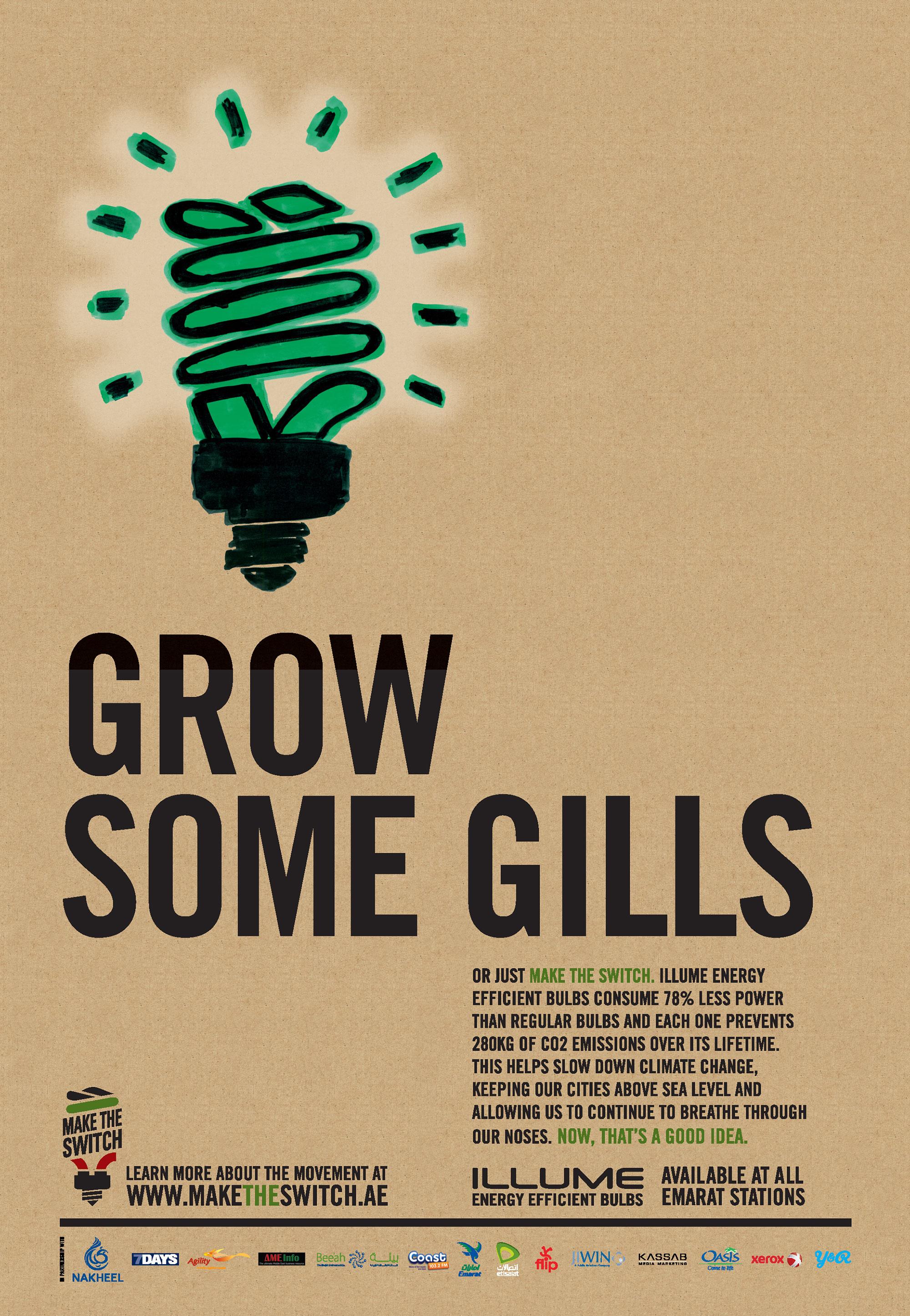 Grow some gills.