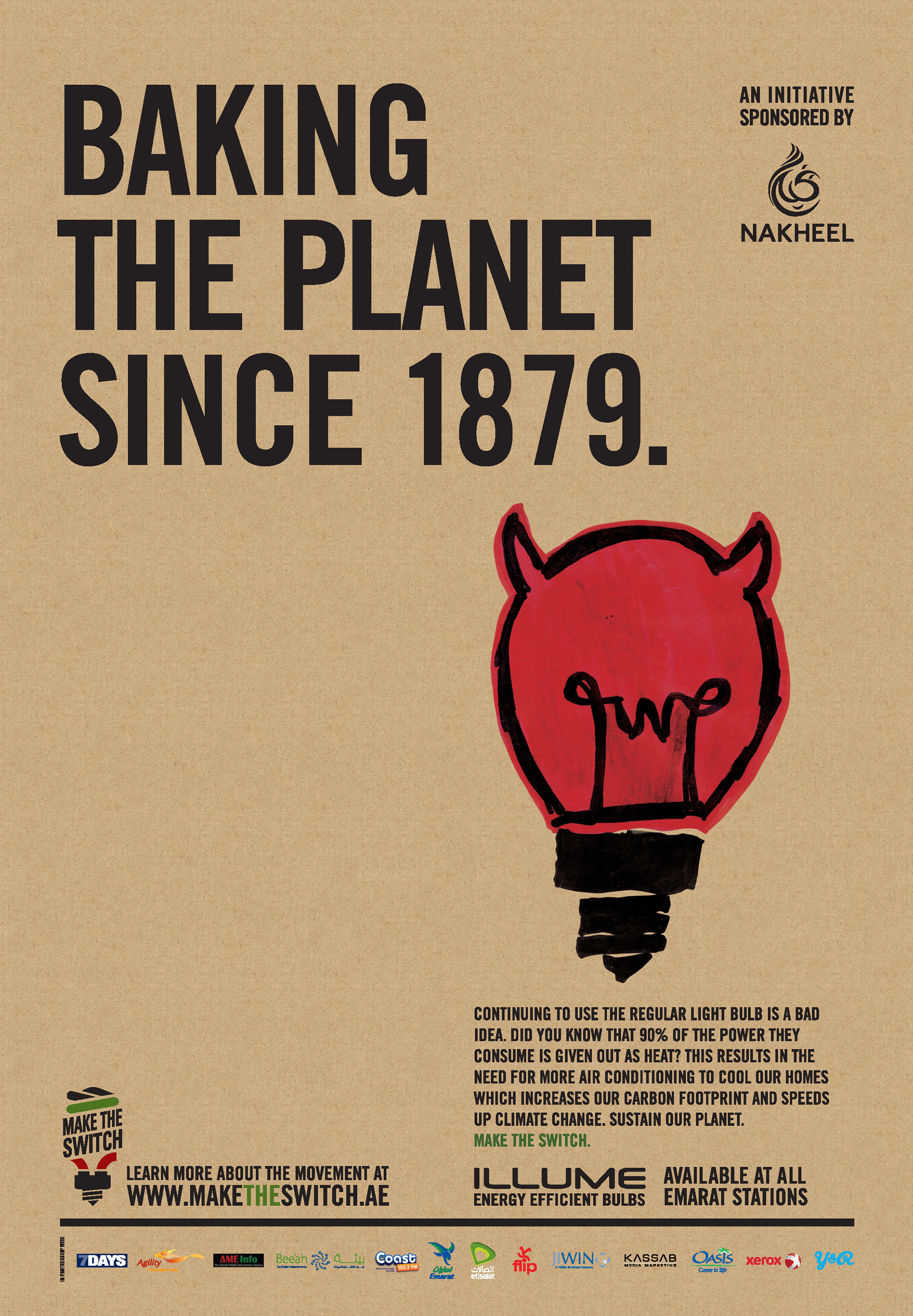 Baking the planet since 1879.