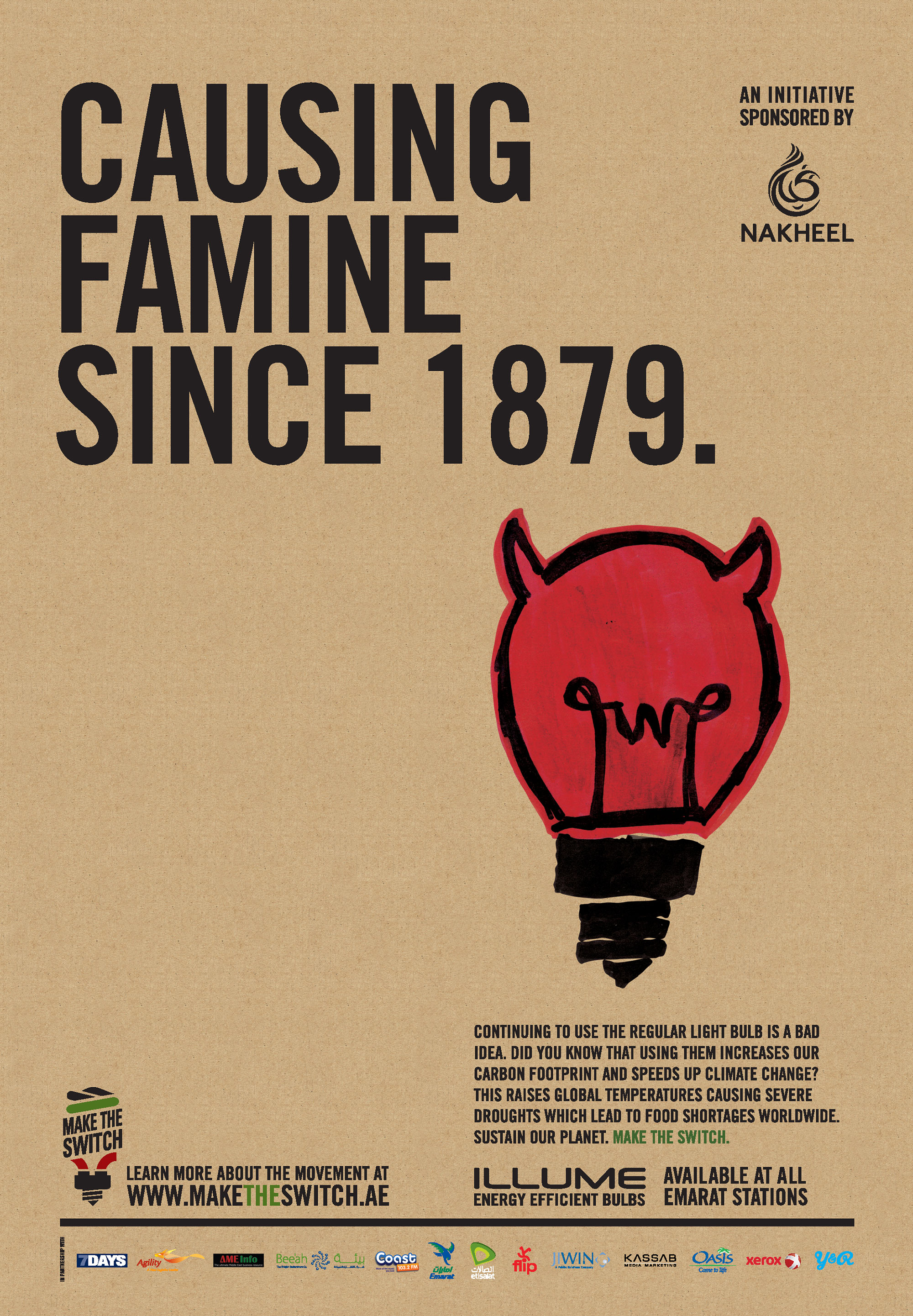 Causing famine since 1879.