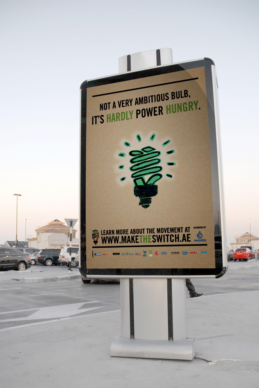 Ecobility Illume Make the Switch - Mupi