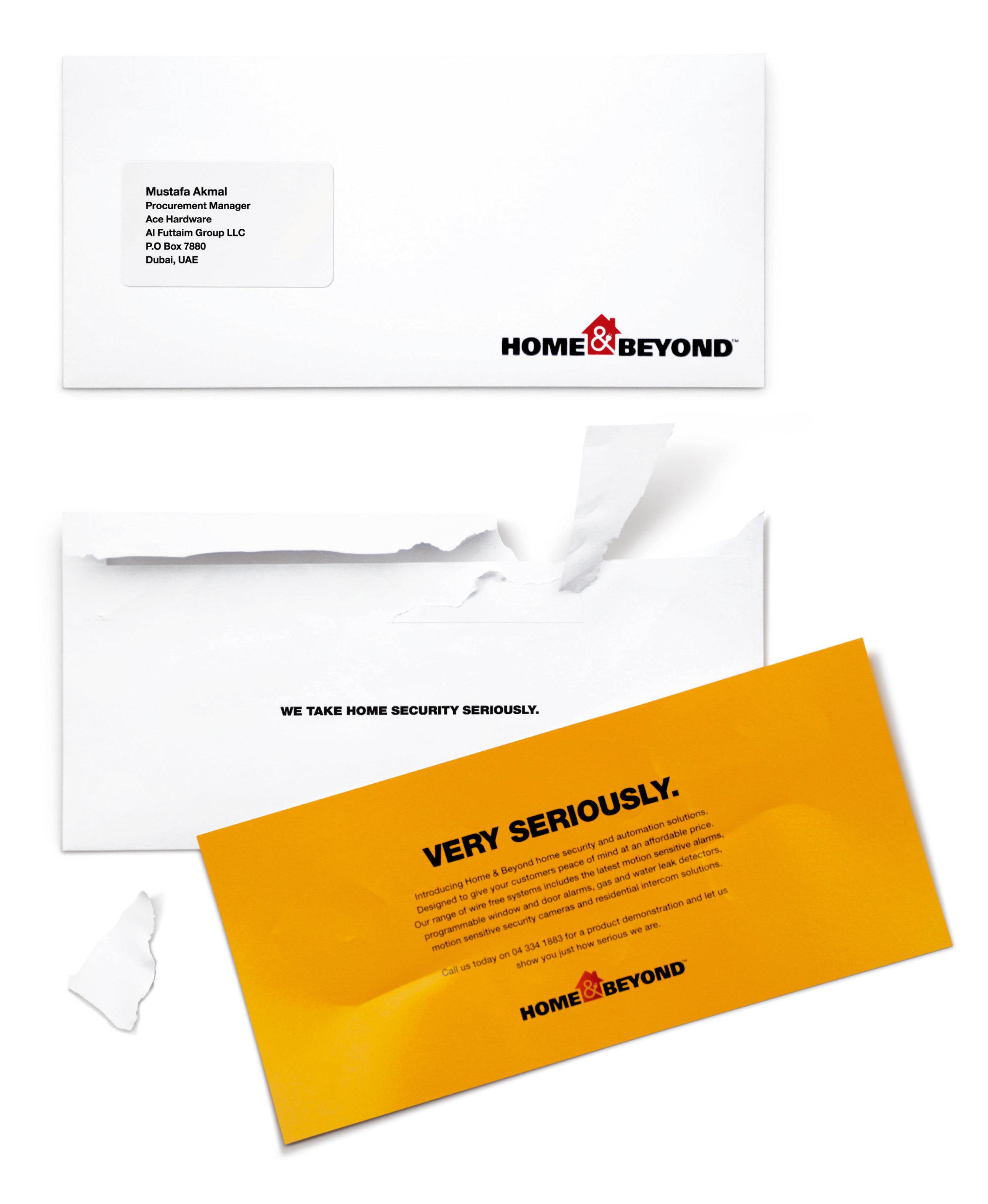 Home & Beyond - Tough Envelope