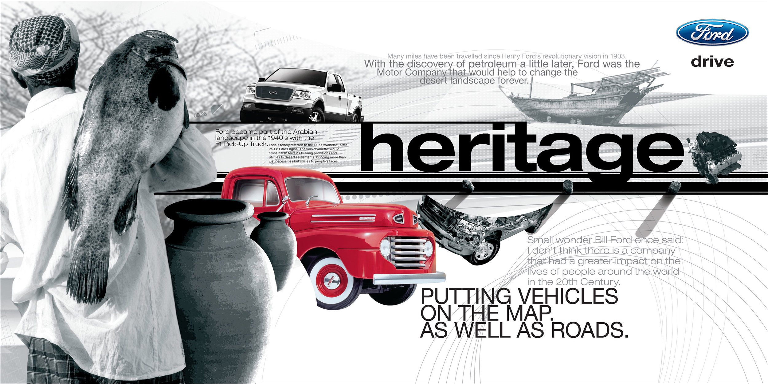 Ford Motor Show - Heritage