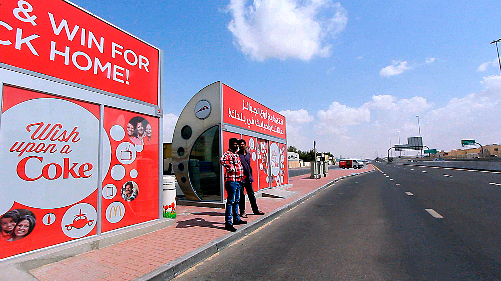 A majority of Asians who live in the UAE take the public bus and the metro everyday.Strategically placed outdoor billboard including bus wrapswere placed where our target audience are.