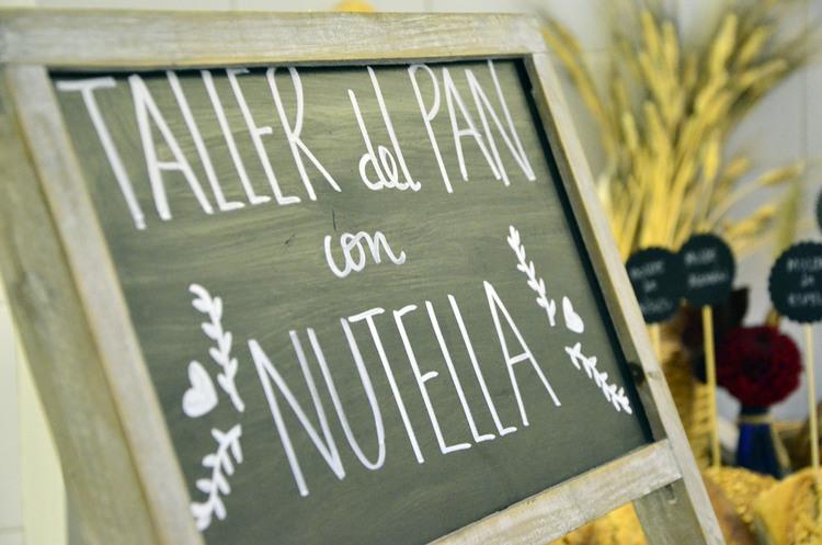 Taller de pan con Nutella
